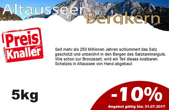-10 % Rabatt Altausseer Bergkern  5 kg