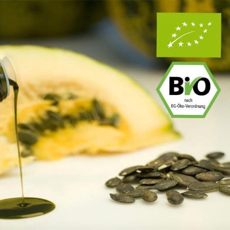 Bio Kürbiskernöl nativ k.b.A