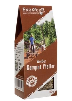 Weißer Kampot Pfeffer