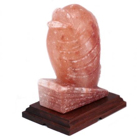 Salzlampe – Fisch (Holzsockel)