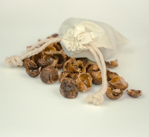 Baumwollsäckchen inkl. 30g Indische Waschnüsse