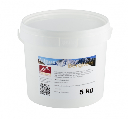 Altausseer Bergkern Granulat 5 kg Eimer