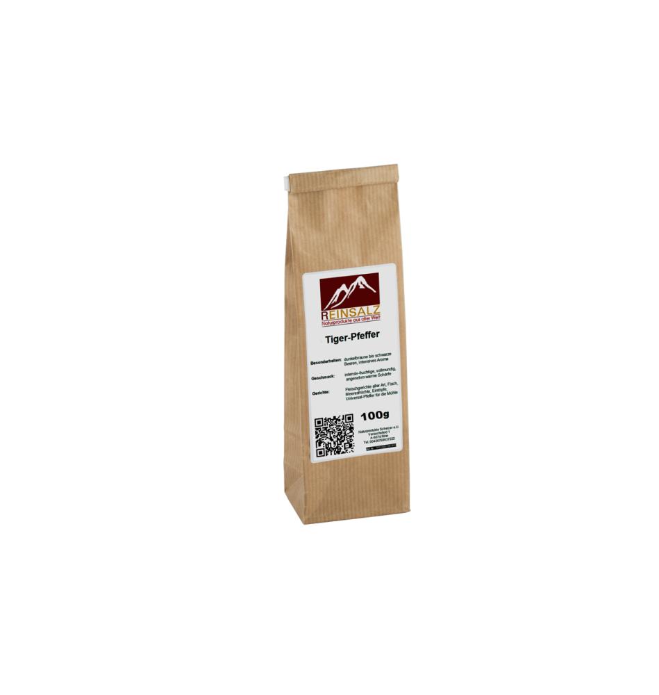 Malabar Pfeffer schwarz 100 g Beutel
