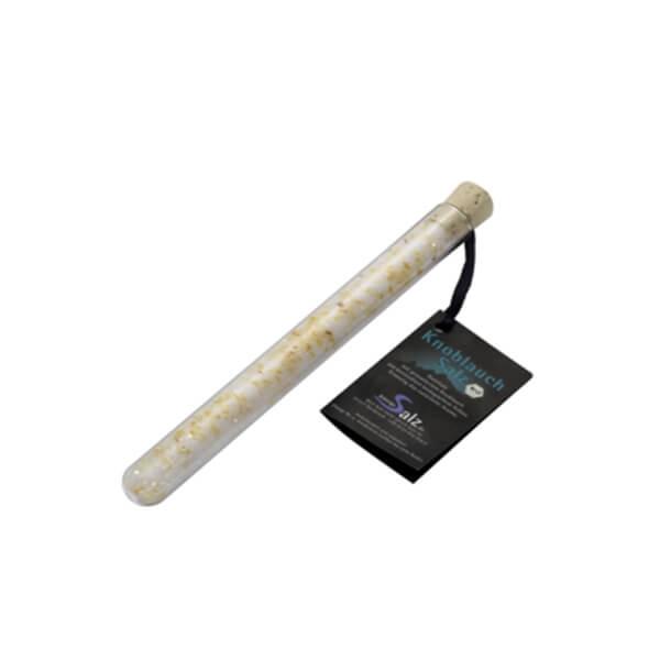 BIO KnoblauchSalz im Reagenzglas