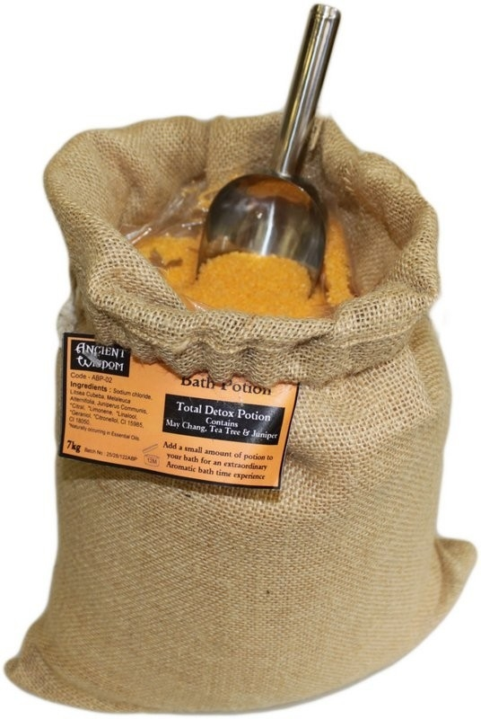 "Aromatherapiebadesalz ""Totale Entgiftung"" 7 kg Jutesack"