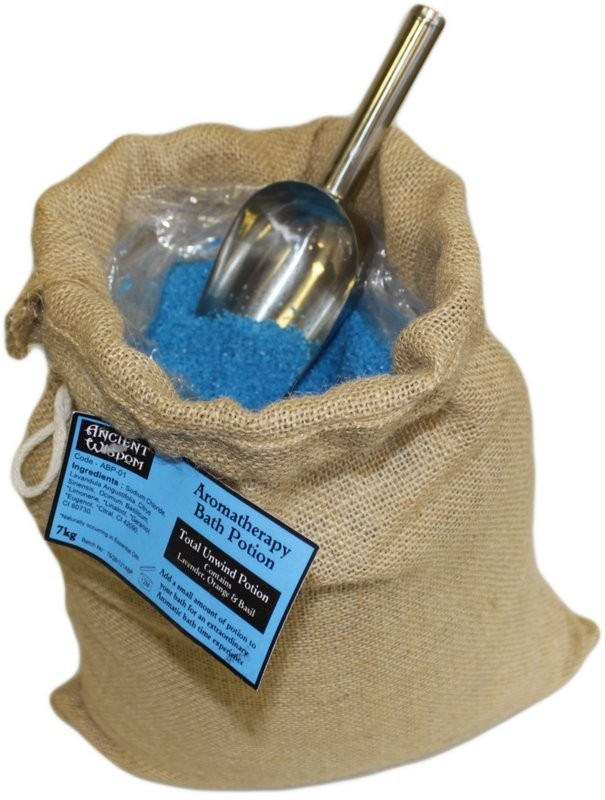 "Aromatherapiebadesalz ""Totale Entspannung"" 7 kg Jutesack"