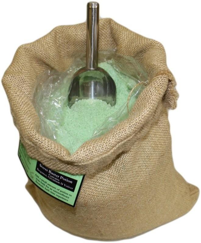 "Aromatherapiebadesalz ""Anti-Stress"" 7 kg Jutesack"