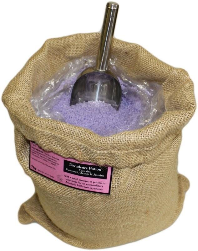 "Aromatherapiebadesalz ""Wohlfühlmischung"" 7 kg Jutesack"