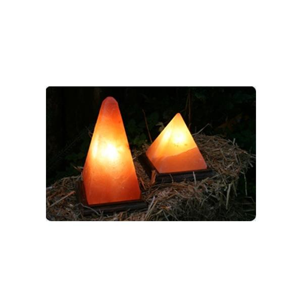 Salzlampe Pyramide 20cm