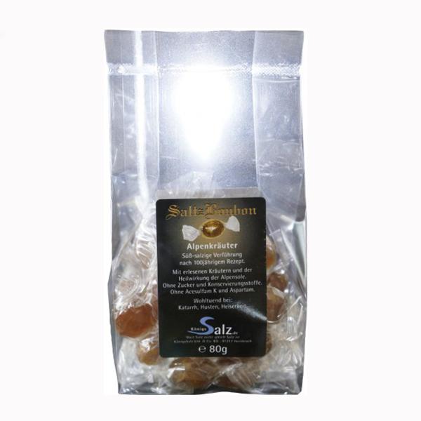 SaltzBonbon Alpenkräuter Tüte 80 g