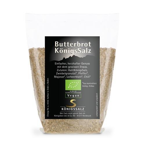 BIO Butterbrot Salz Tüte 100 g