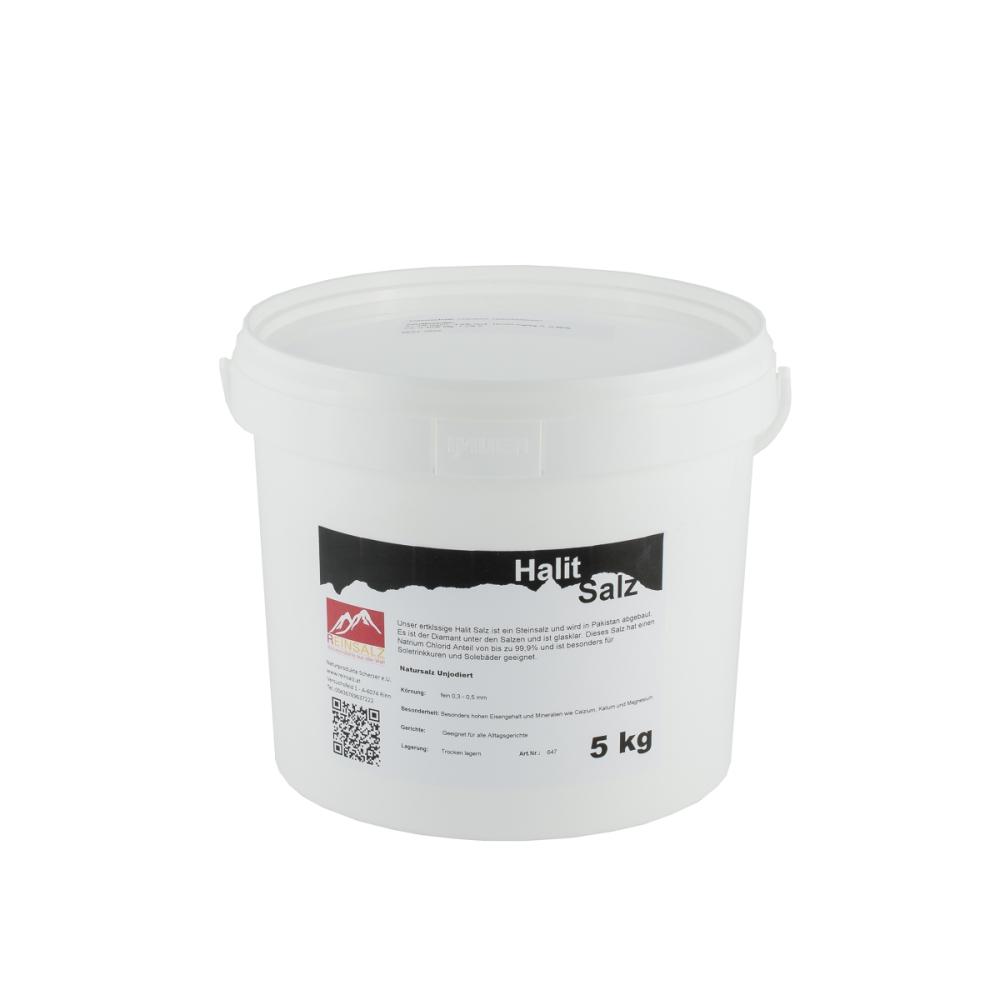 Halit Salz Granulat 5 kg Eimer