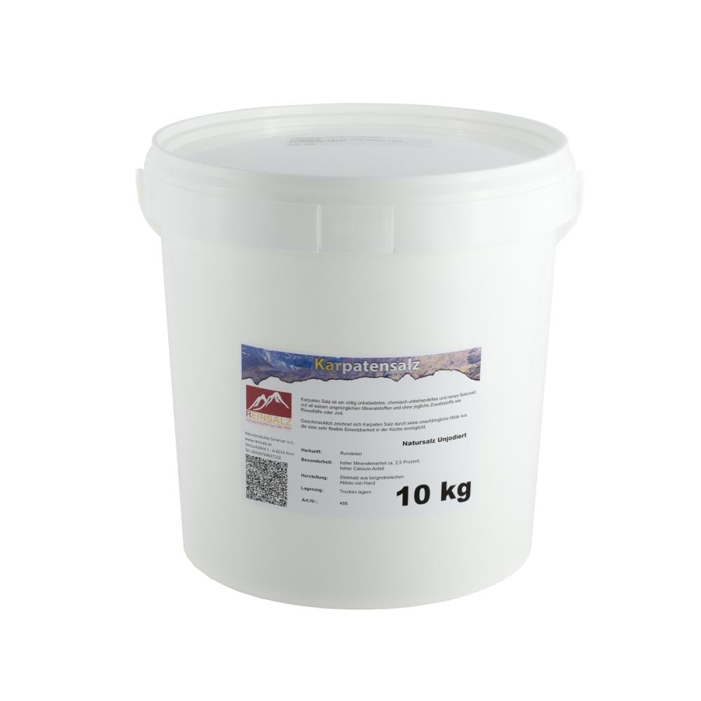 KarpatenSalz fein 10 kg Eimer