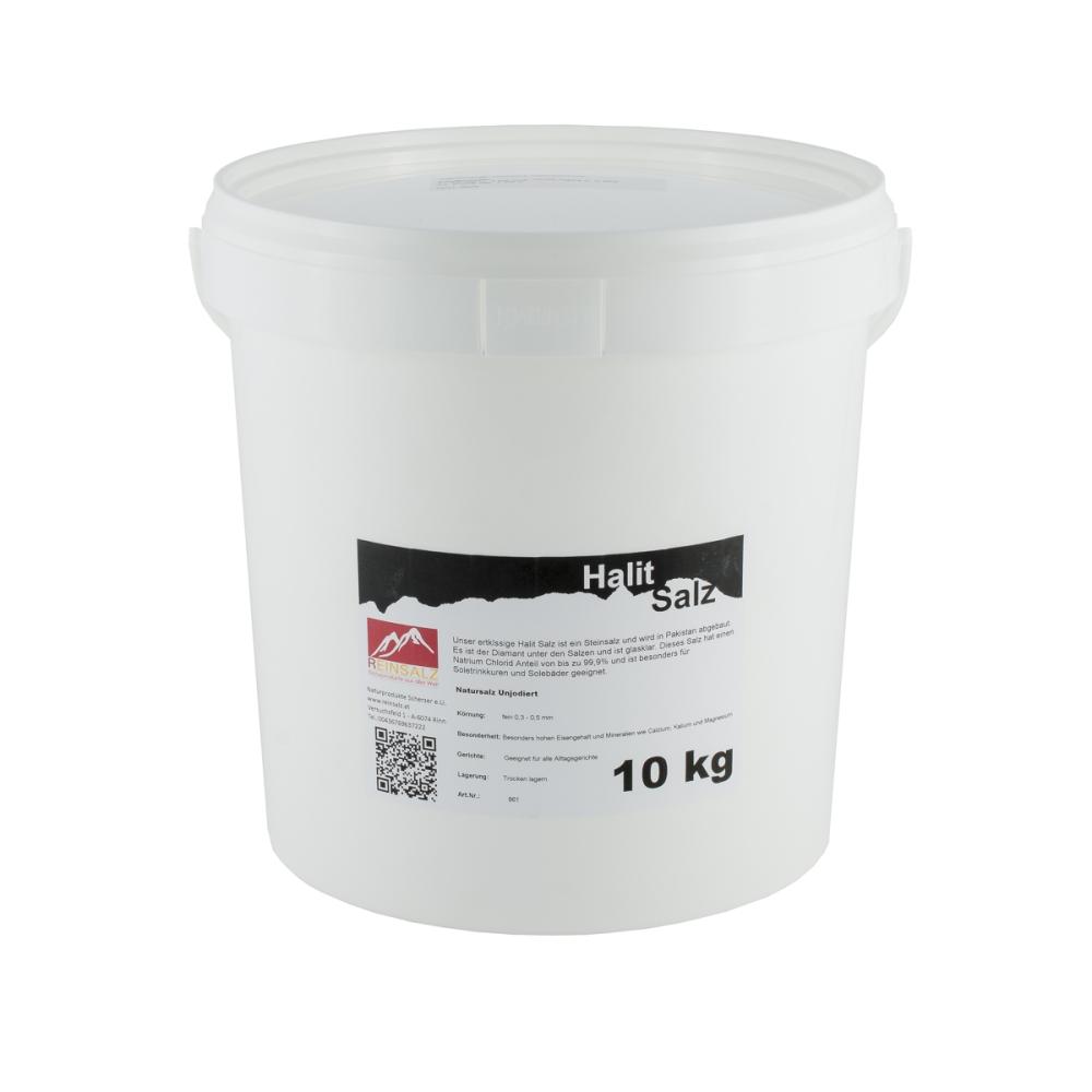 Halit Salz Granulat 10 kg Vorratseimer