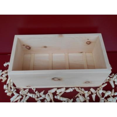 Zirbenholz Brotdose (rechteckig)