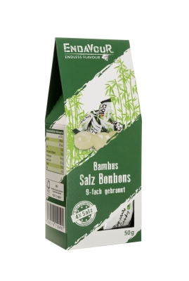 Endavour Salzbonbons 4% Salz 50g