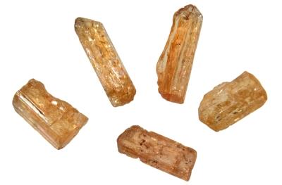 Topas Imperial (Goldtopas) für Glasstab