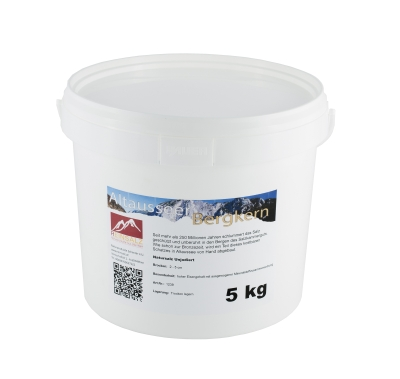 Altausseer Bergkern Brocken im 5 kg Eimer