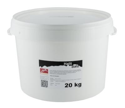 Halit Salz Puder 20 kg Vorratseimer