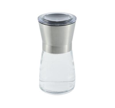 Salz & Pfeffermühlen 13 cm leer - Edelstahl