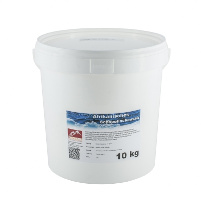 Afrikanisches Schneeflockensalz 10 kg Eimer