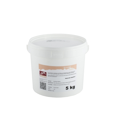 Himalya- Kristallsalz Puder 5 kg Eimer