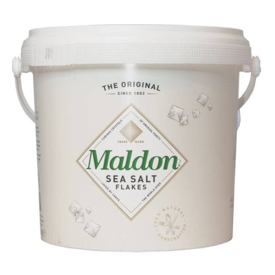 Maldon Sea Salt Flakes 1 kg Eimer