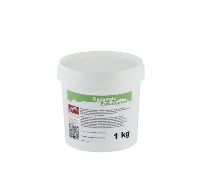 Natürliches Badesalz Eukalyptus 1 kg Eimer