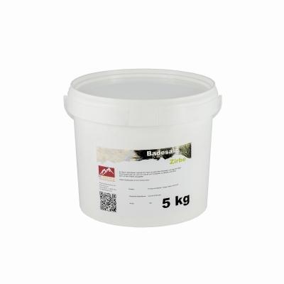 Badesalz Zirbe 5 kg Eimer