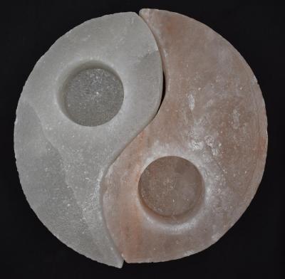 Yin und Yang Teelichter
