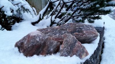 Berchtesgadener Naturleckstein 25 kg Sack