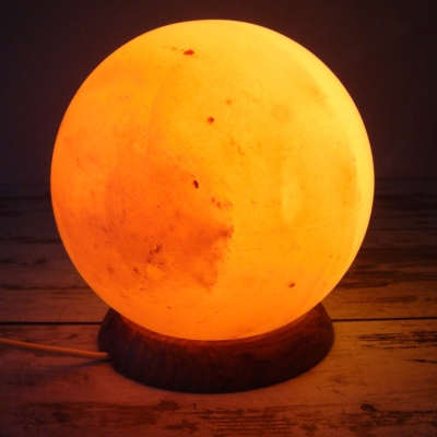 Salzlampe Planet B-Ware
