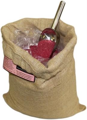 "Aromatherapiebadesalz ""Leidenschaft"" 7 kg Jutesack"