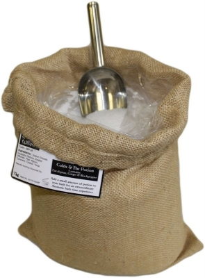 "Aromatherapiebadesalz ""Erkältung"" 7 kg Jutesack"