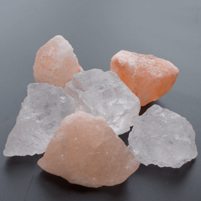 Halit- Himalayasalzkristall Mix für Sole 6stk.