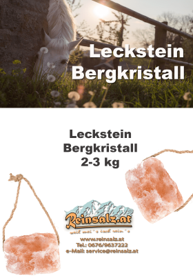 Leckstein Bergkristall 2-3 kg