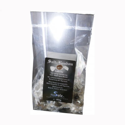 SaltzBonbon Lakritz Tüte 80 g