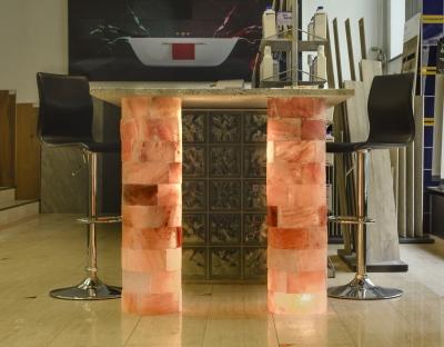 Salzziegel Rund für Säulenbau