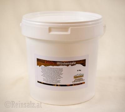 Kalahari Wüstensalz fein 5 kg Eimer