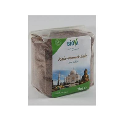 Biova Kala Namak Granulat Salz aus Indien 1kg