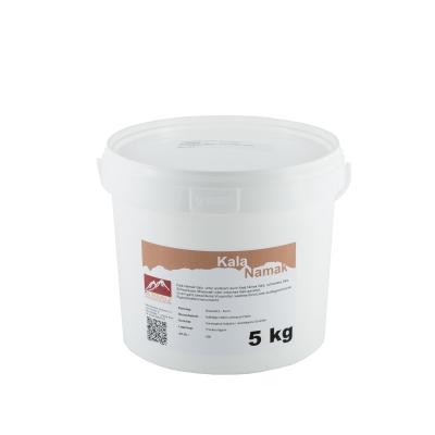 Kala Namak Salz Granulat aus Indien 5kg Eimer