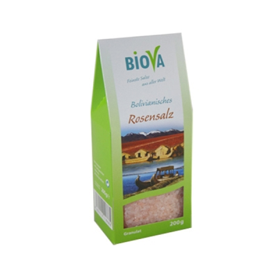 Biova Bolivianisches Rosensalz