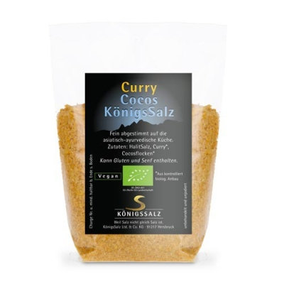 CurryCocosSalz im Glas 180g aus k.b.A.