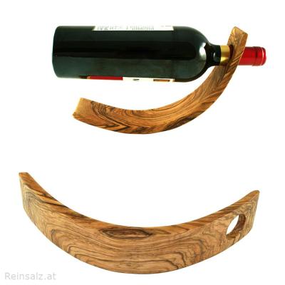 Designer Weinflaschenhalter Sichelmond