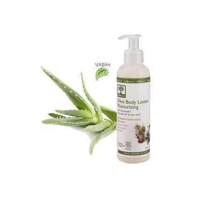 Bio Feuchtigkeitsspendende Olivenöl-Körperlotion 200 ml