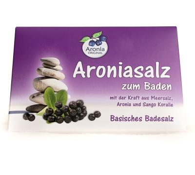 Aronia Badesalz Sachet (basisch) 80g