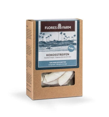 Premium Bio Kokosnussstreifen 90g