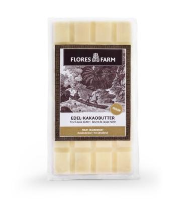 Bio Edel-Kakaobutter fermentiert 85g