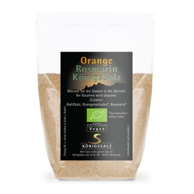 BIO OrangeRosmarinSalz Tüte 100 g