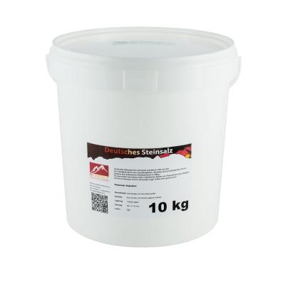 Deutsches Steinsalz fein 10 kg Eimer